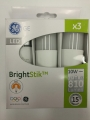 GE LED BRIGHT STICK E27 10W/830